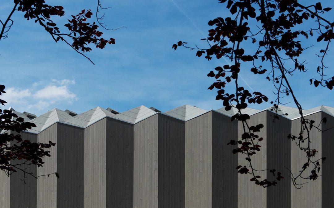 Un nouveau pavillon en bois au Théâtre de Vidy