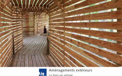 Nouvelle brochure A5 Lignum « Aménagements extérieurs – Le bois en vitrine »
