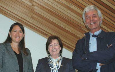 Sylvia Flückiger réélue en tant que Présidente de Lignum Suisse