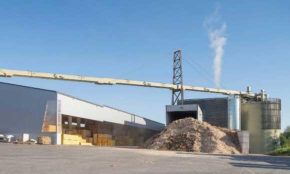 Enerbois (Rueyres) est la plus grande installation biomasse de Suisse romande.