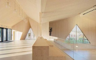 Une réalisation suisse gagne le Prix International Architecture Bois décerné par la presse 2019