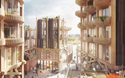 Le bois internationalement choisi par des constructeurs visionnaires !