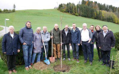 Le Comité Lignum Vaud rend hommage à Hermann Blumer