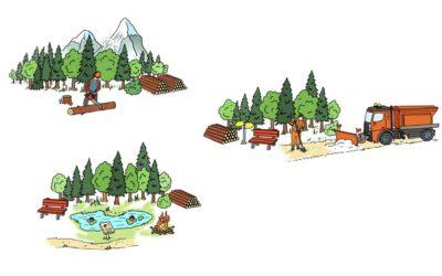 Guide pratique « Comment réussir des coopérations forestières en Suisse »