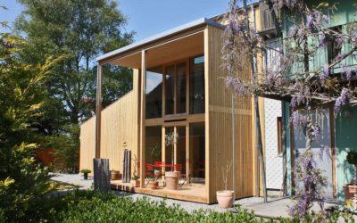 Le bois à Habitat-Jardin 2020