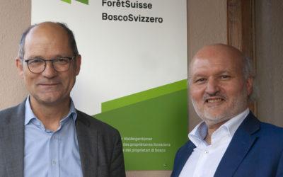 Un nouveau directeur à la tête de ForêtSuisse