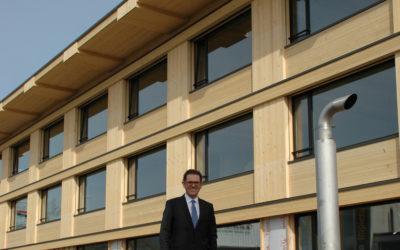 Entretien avec le nouveau Président de Lignum Jakob Stark